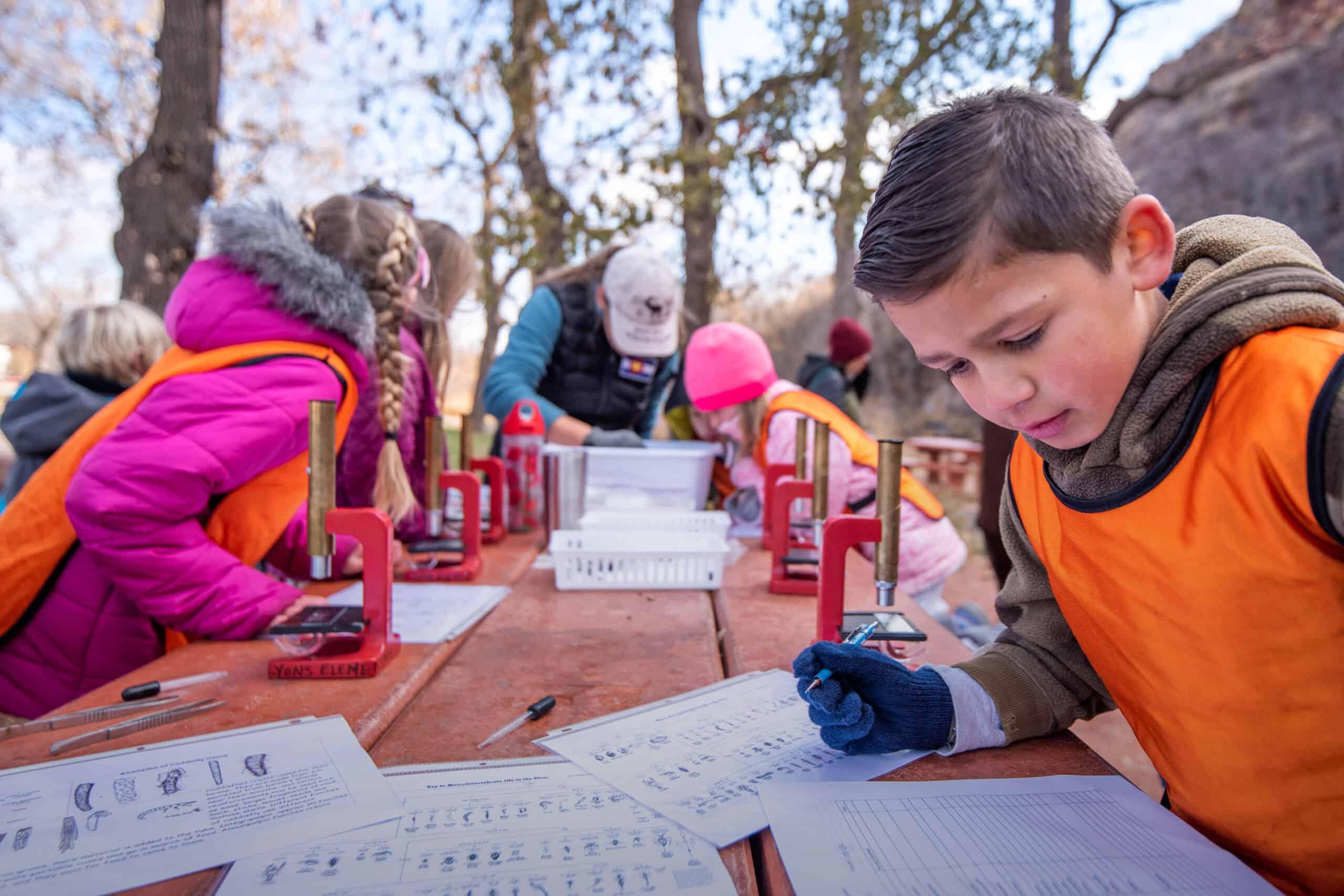 Lyons Elementary river study