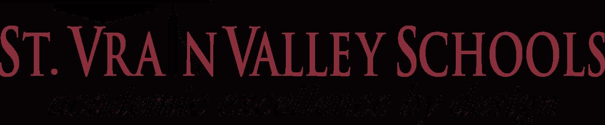 Logotipo de las escuelas de St. Vrain Valley