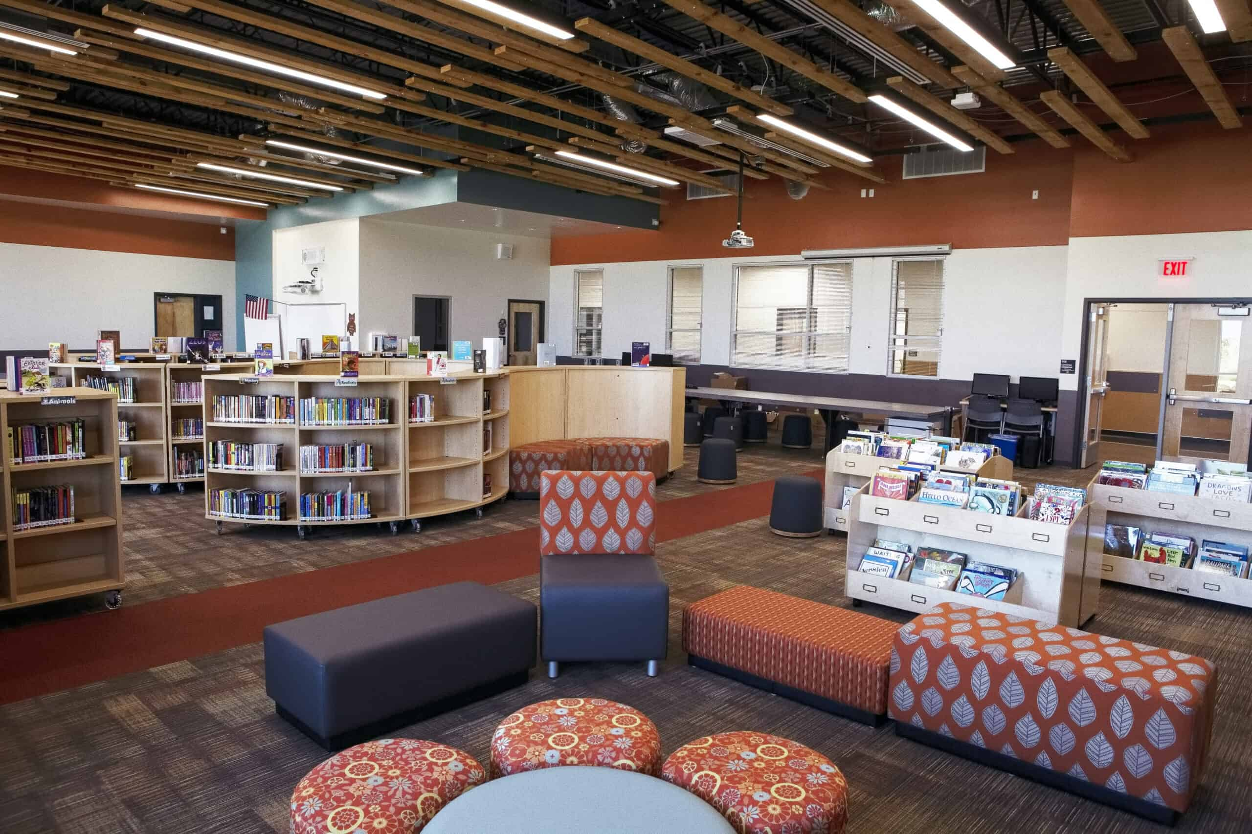 Grand View Library Furniture