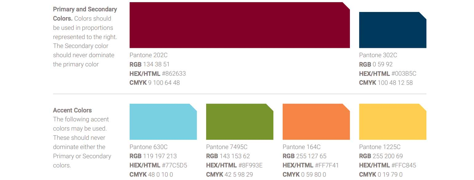 Image of Brand Color Palette