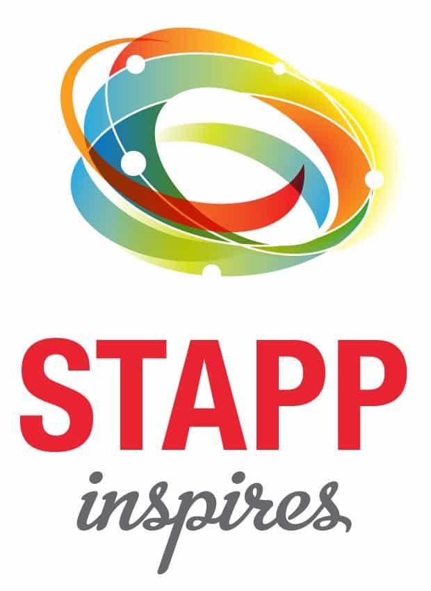 STAPP inspires logo