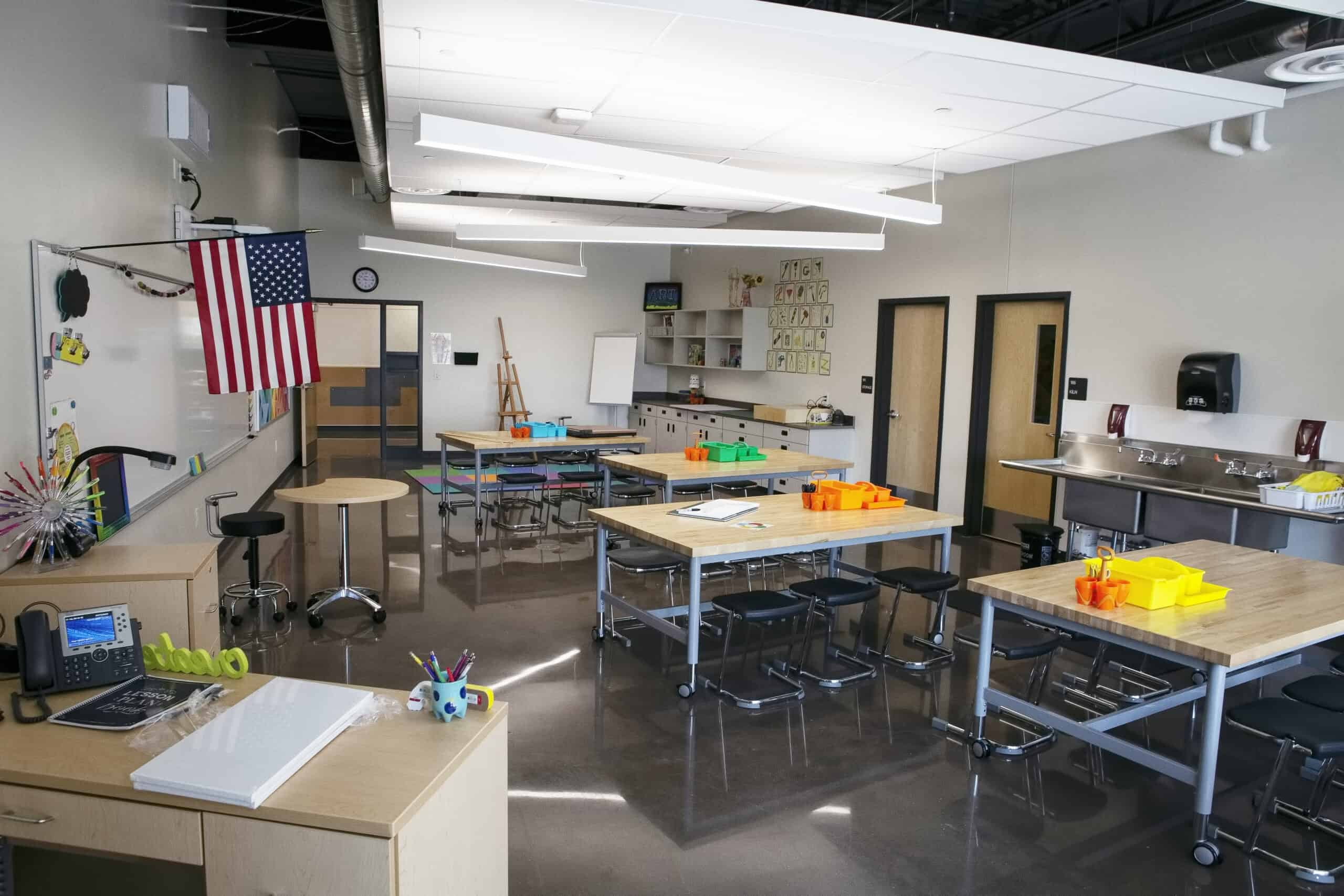 Grand View art room