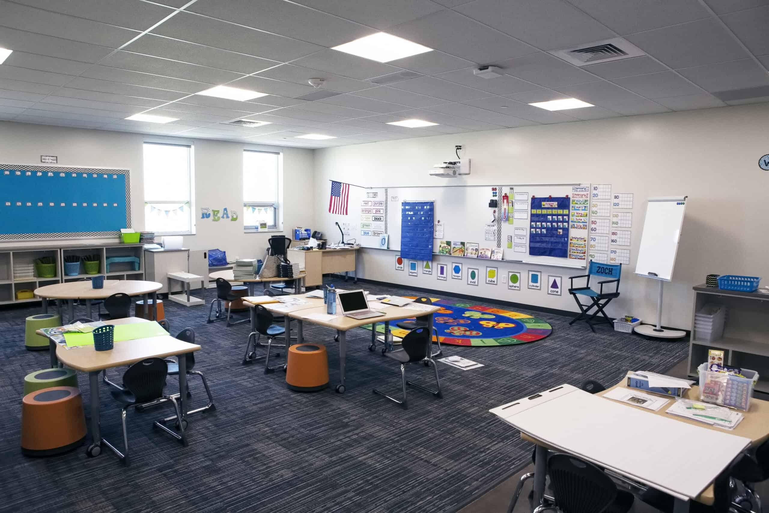 Grand View classroom